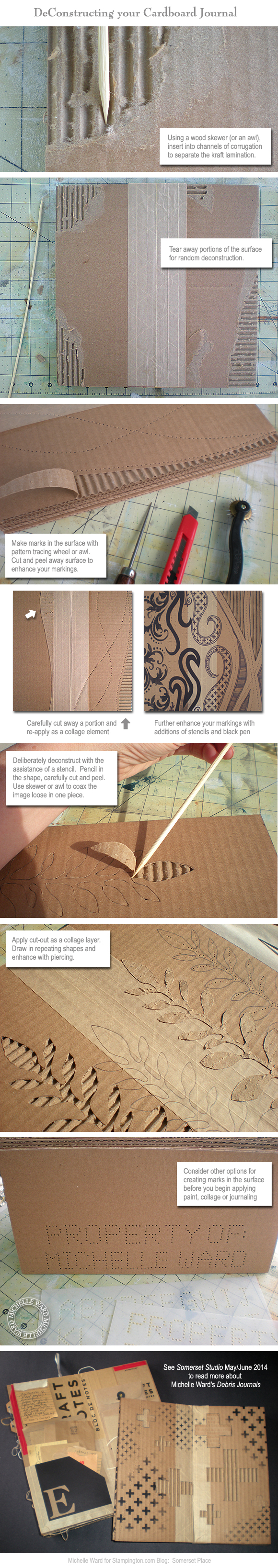 MKW Cardboard Journal Tutorial 2