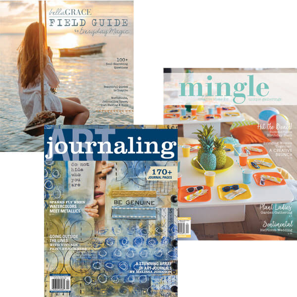 Glimpse Inside July Issues + Your Chance To Win!